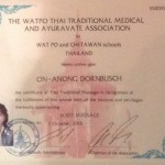 Zertifikat Fuß-Massage